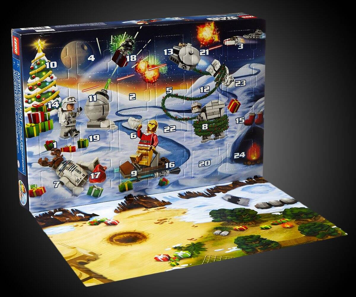 LEGO Star Wars Advent Calendar Building Kit - http://coolthings.us