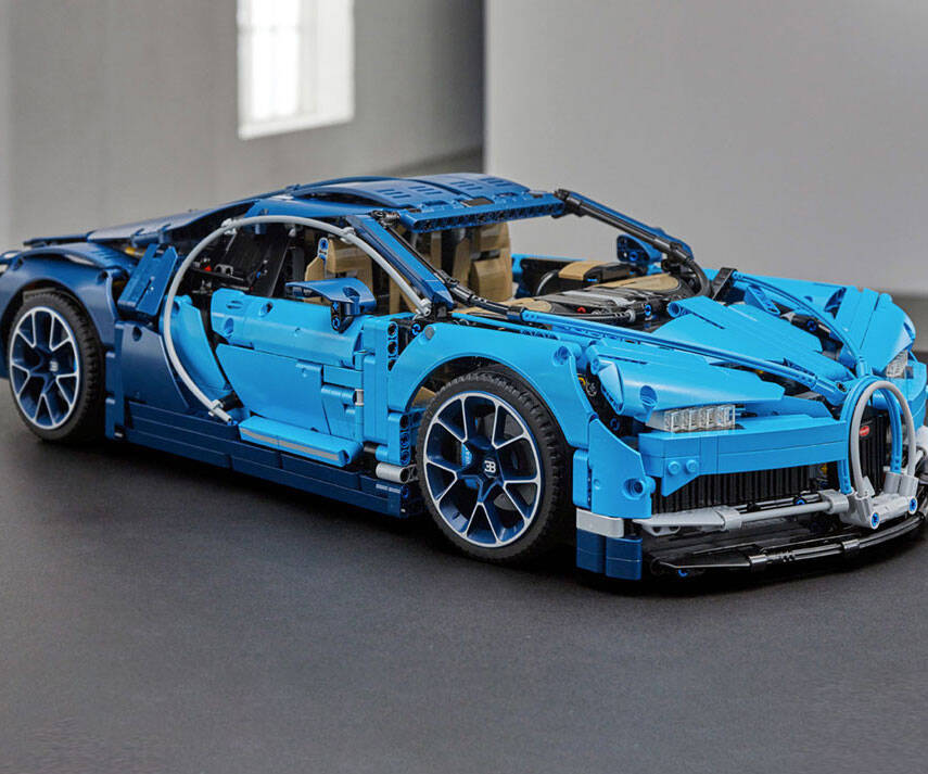 LEGO Bugatti Chiron - http://coolthings.us