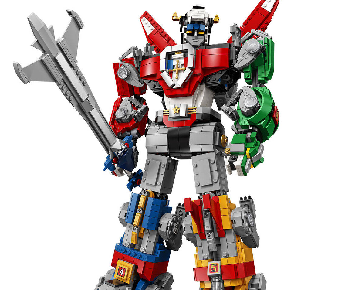 LEGO Voltron Set - http://coolthings.us