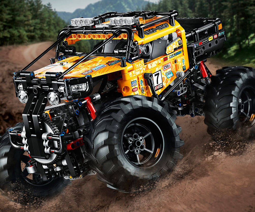 LEGO 4x4 X-Treme Off-Roader - coolthings.us