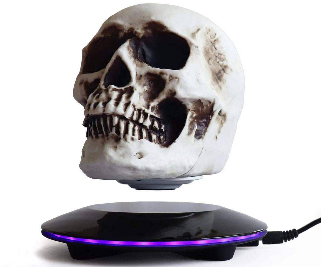 Levitating Skull Light