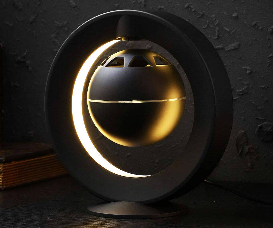 Levitating Surround Sound Speaker - http://coolthings.us