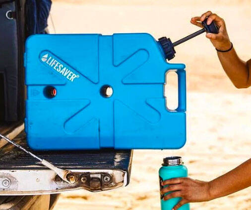Jerrycan Water Filter