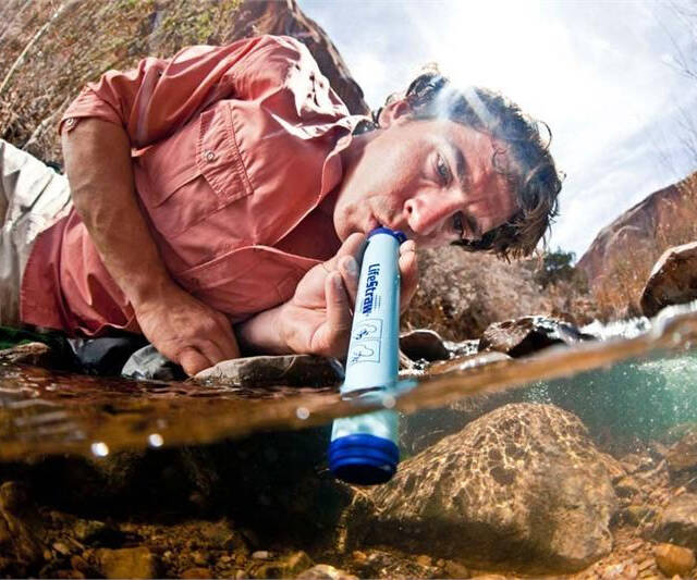 Water Purifying Straw - http://coolthings.us