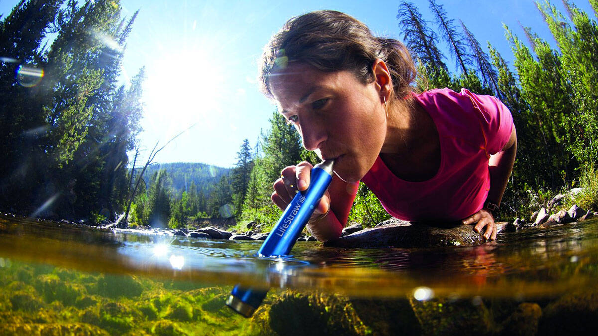 LifeStraw Steel Personal Water Filter - http://coolthings.us
