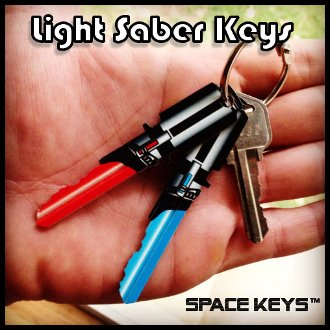 Lightsaber Keys - coolthings.us