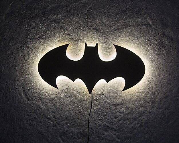 Light Up Batman Sign - http://coolthings.us
