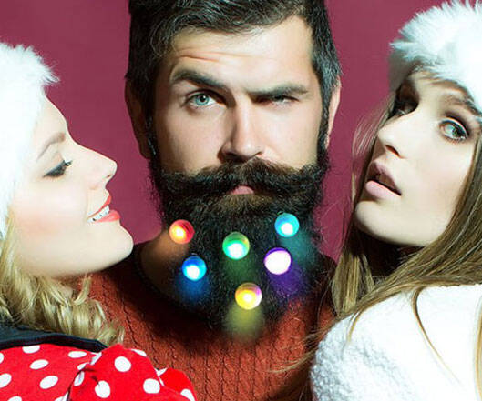 Light Up Beard Baubles