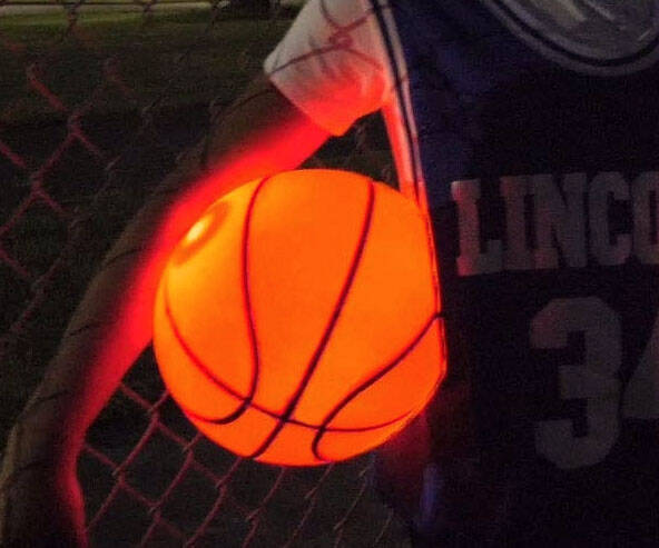Light Up Glow Basketball - http://coolthings.us