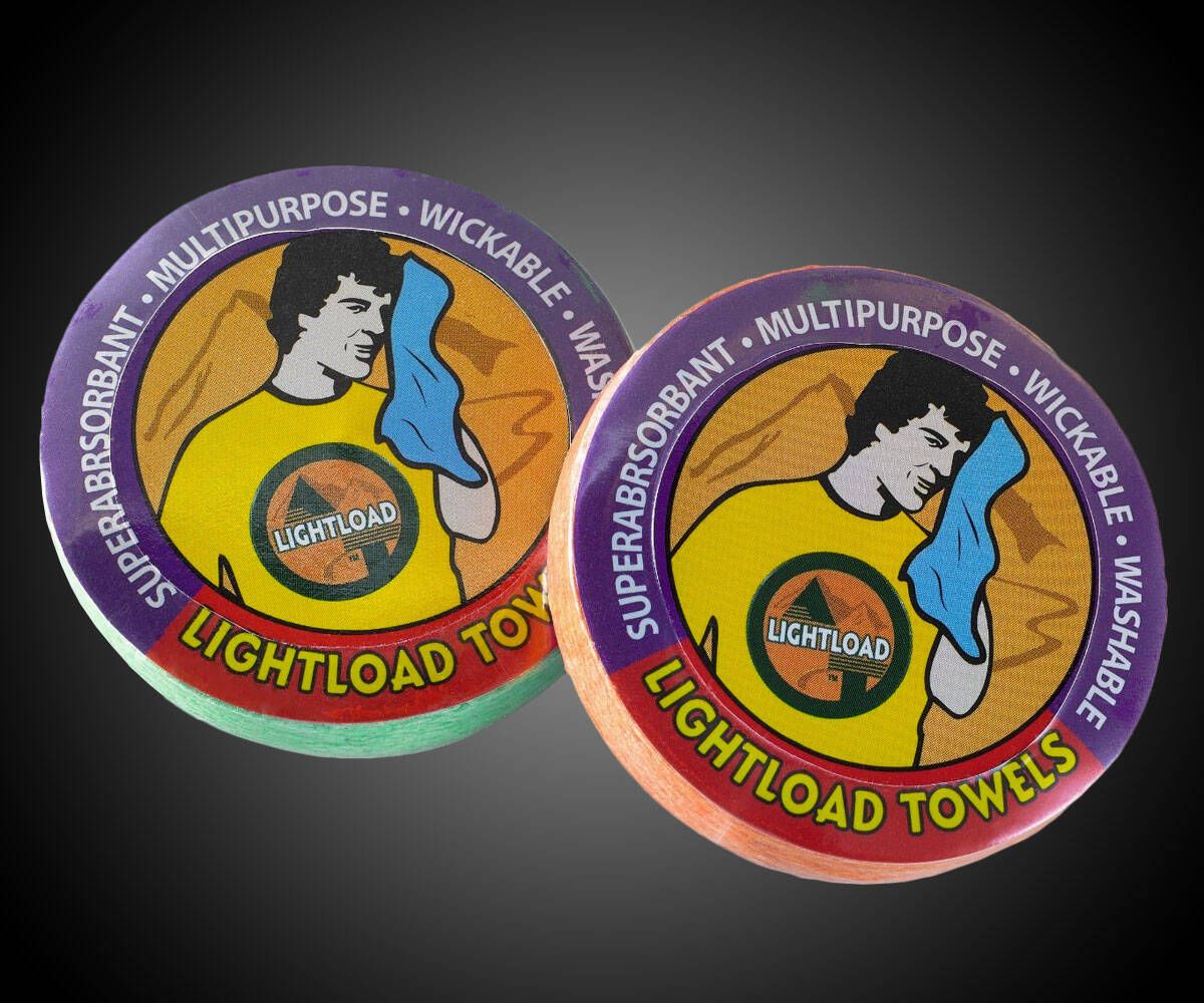 Lightload Survival Tool Towels - http://coolthings.us