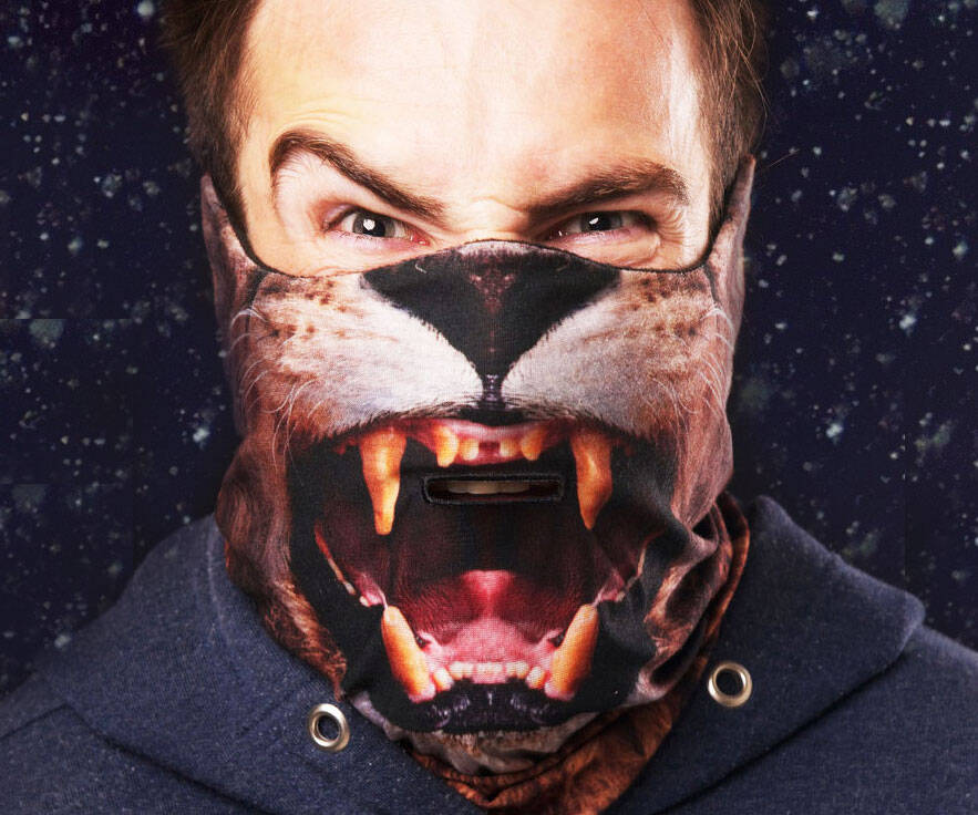 Lion Ski Mask - http://coolthings.us