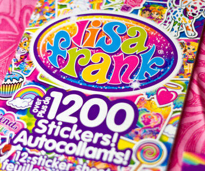 Lisa Frank Collector's Set Sticker Book - http://coolthings.us