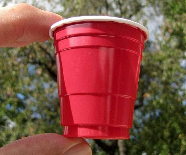 Tiny Plastic Party Cups