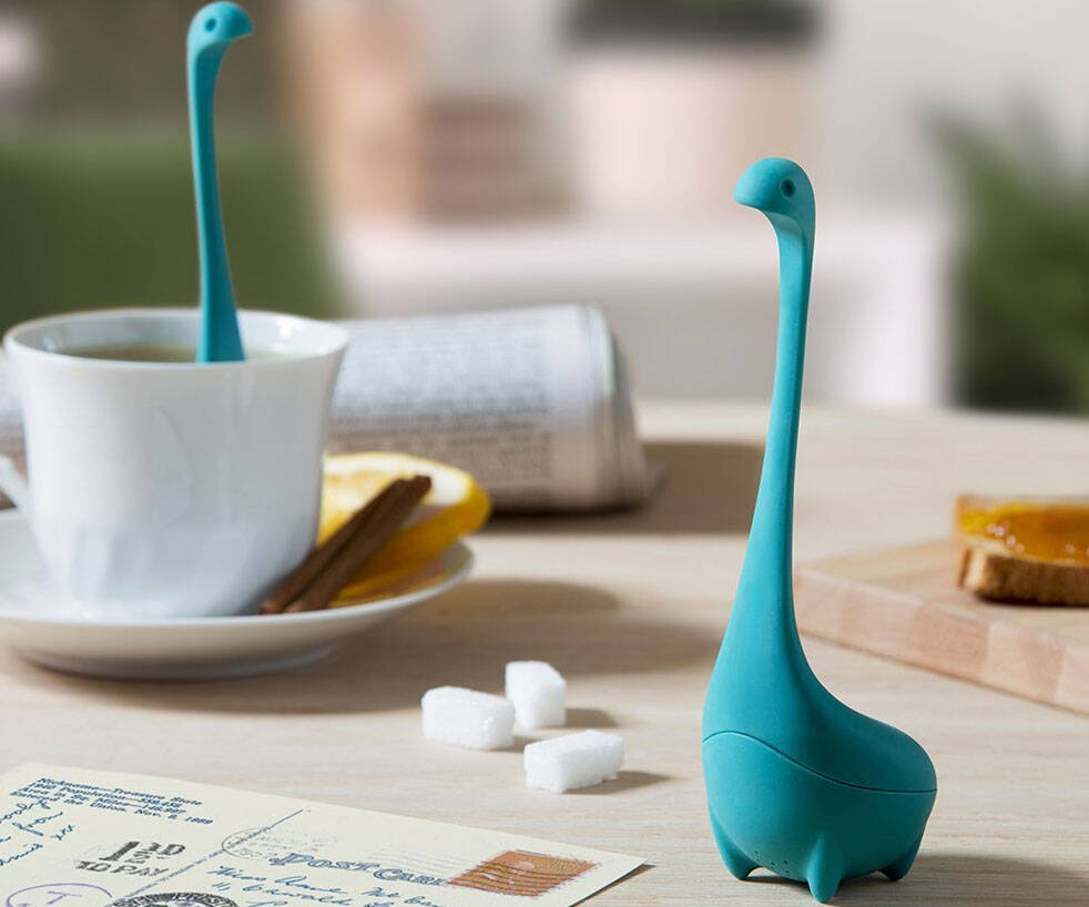 Loch Ness Monster Tea Infuser - http://coolthings.us