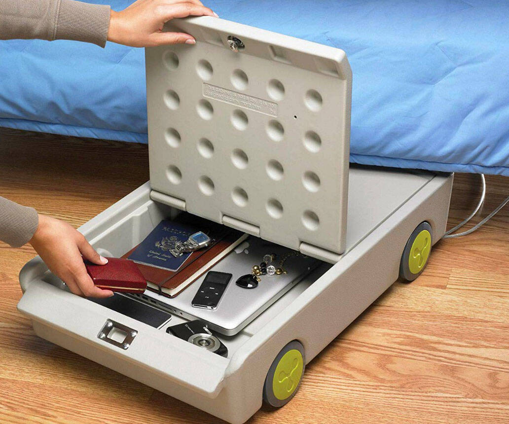 Lock & Roll Under-Bed Personal Safe - coolthings.us
