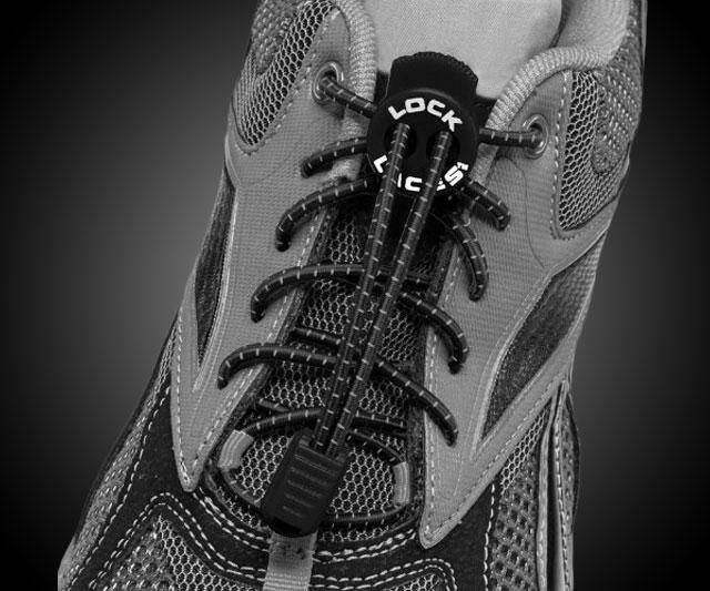 Lock Laces - Elastic No-Tie Shoelaces - http://coolthings.us