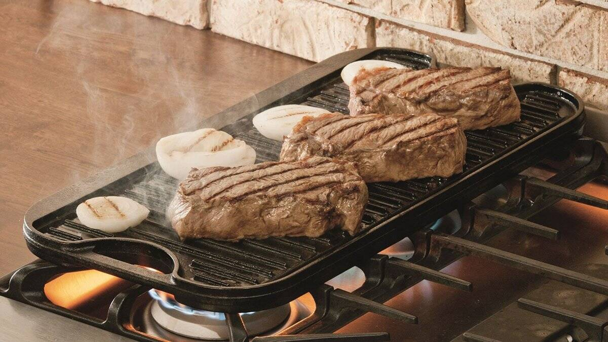 Lodge Cast Iron Reversible Grill - coolthings.us