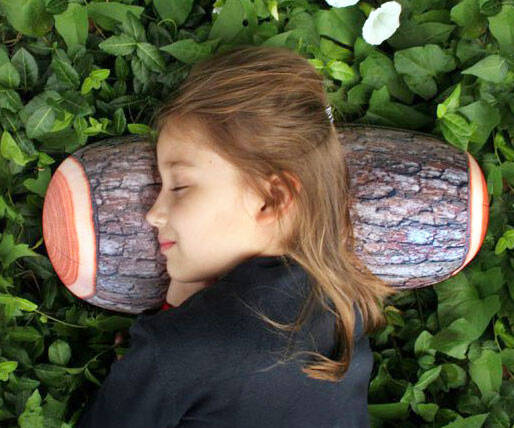 The Log Pillow - http://coolthings.us