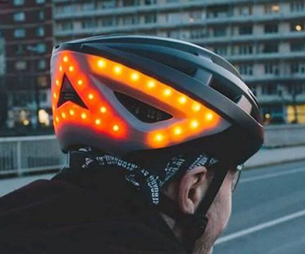 The Smart Bicycle Helmet - http://coolthings.us