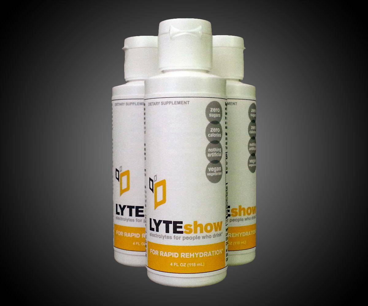 LyteShow Rapid Rehydration Electrolytes - http://coolthings.us