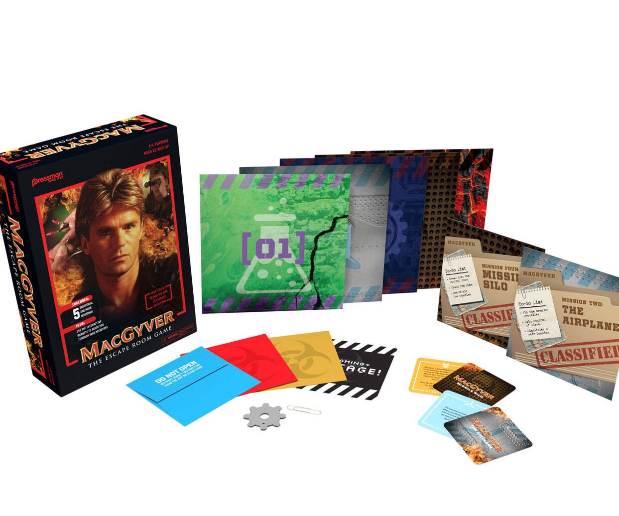 MacGyver: The Escape Room Game - http://coolthings.us