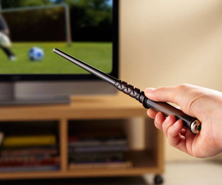 Magic Wand TV Remote - http://coolthings.us