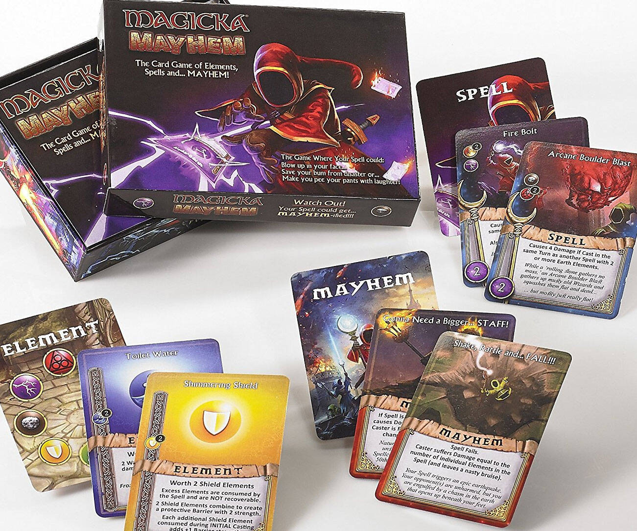 Magicka Mayhem Wizardry Card Game - http://coolthings.us