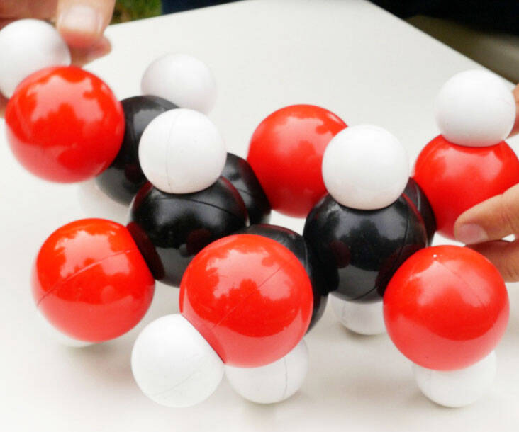 Magnetic Molecular Modeling Kit - http://coolthings.us