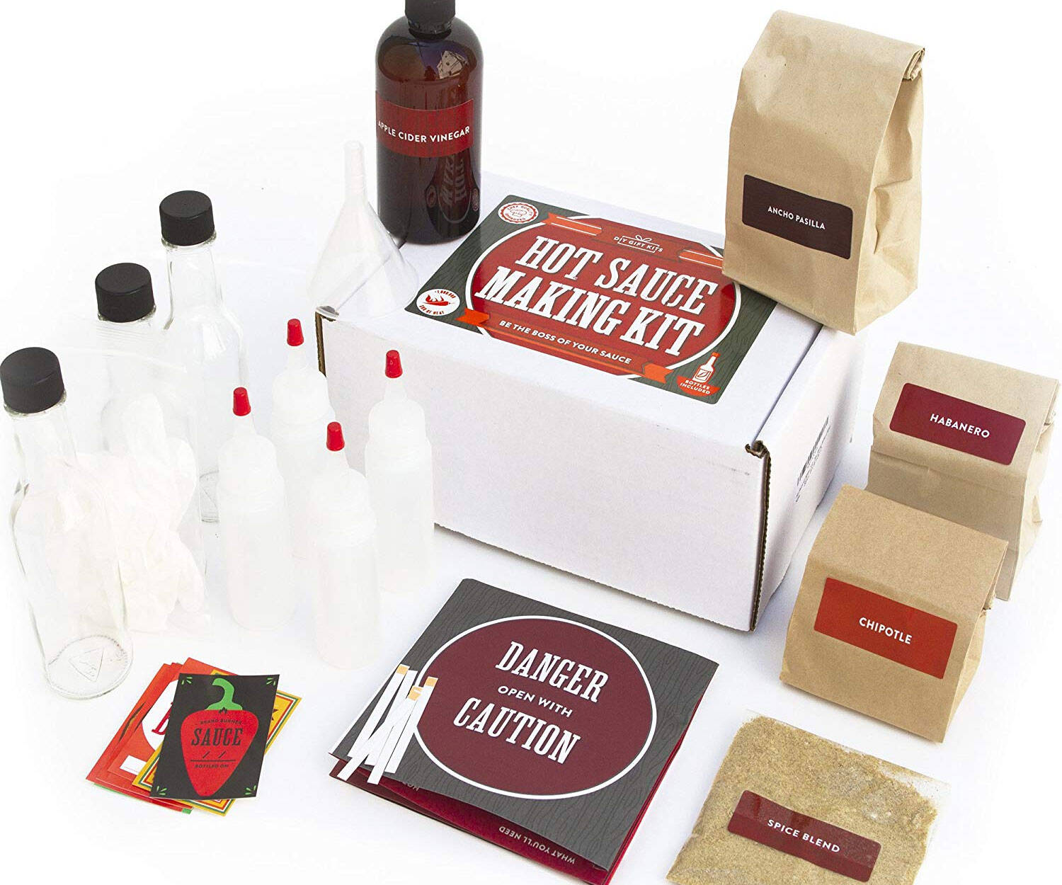 Make Your Own Hot Sauce Kit - http://coolthings.us