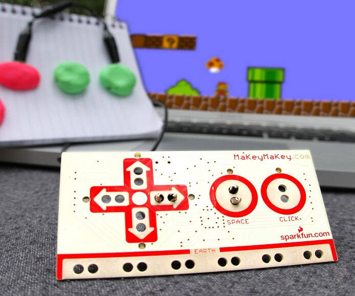 MaKey MaKey Invention Kit - http://coolthings.us
