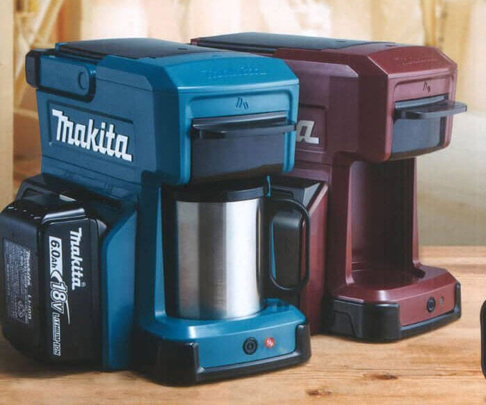 Makita Power Tool Battery Coffee Maker - http://coolthings.us