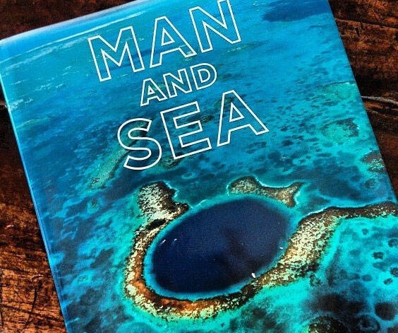Man And Sea Book - http://coolthings.us