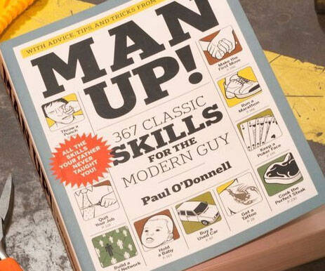 Man Up Book - http://coolthings.us