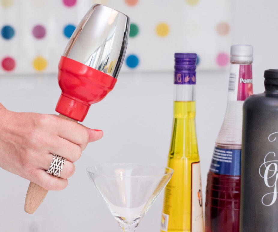 Maraca Cocktail Shaker - http://coolthings.us