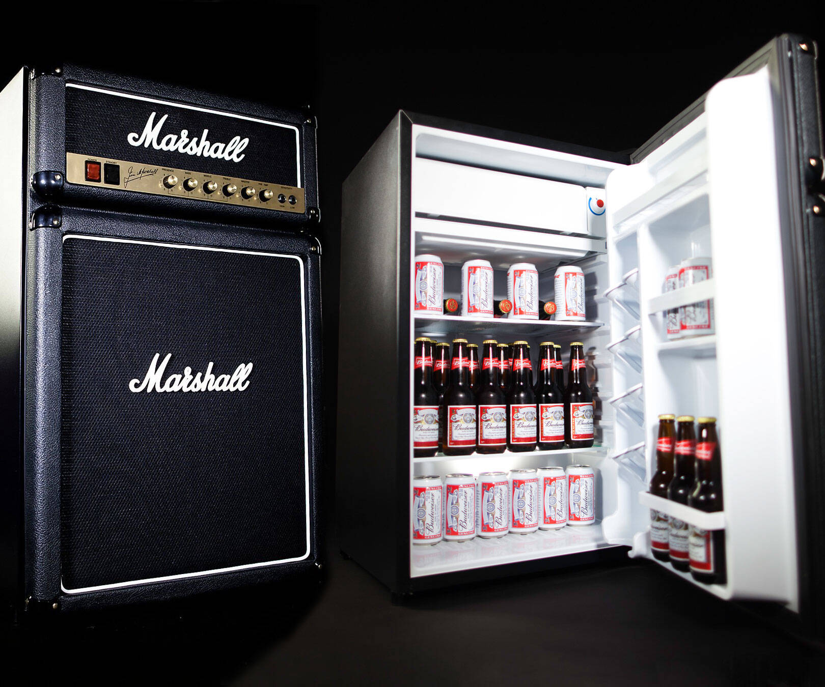 Marshall Amplifier Fridge - http://coolthings.us