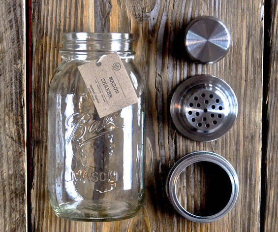 Mason Jar Cocktail Shaker - http://coolthings.us