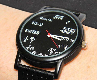 Math Equation Watch - http://coolthings.us