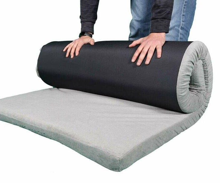 Roll Out Memory Foam Floor Mattress - http://coolthings.us