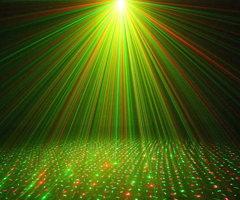 Meteor Laser Projector LED Stage Lights - http://coolthings.us