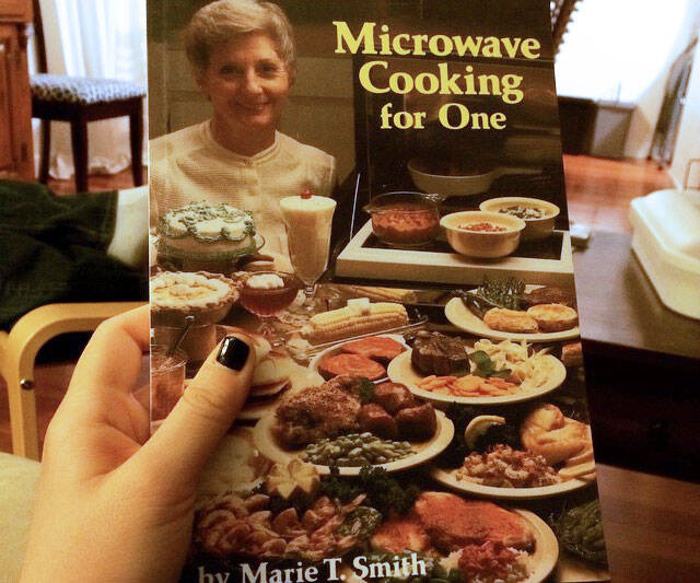 Microwave Cooking For One Cookbook - coolthings.us