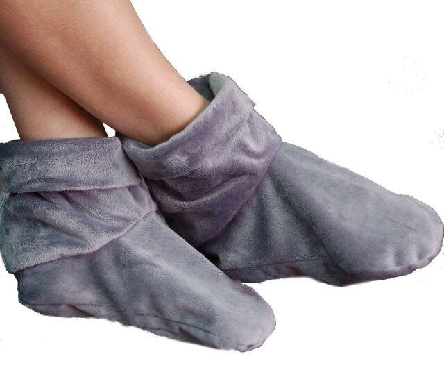 Heated Microwaveable Foot Booties