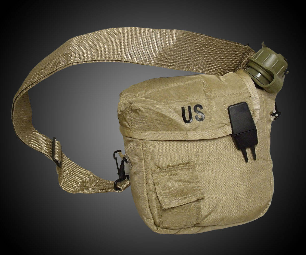Military Issue Water Canteen - http://coolthings.us