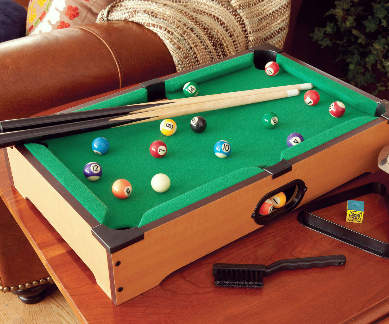 Mini Pool Table - http://coolthings.us