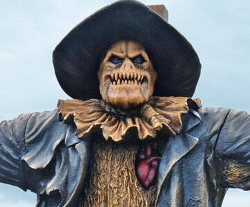 Mini Scarecrow Statue - http://coolthings.us