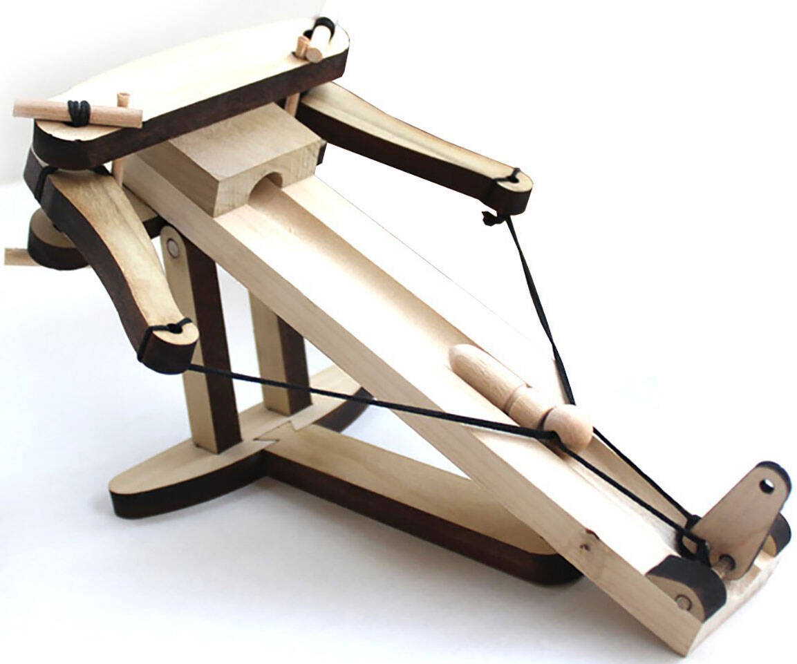 Mini Wooden Ballista - http://coolthings.us