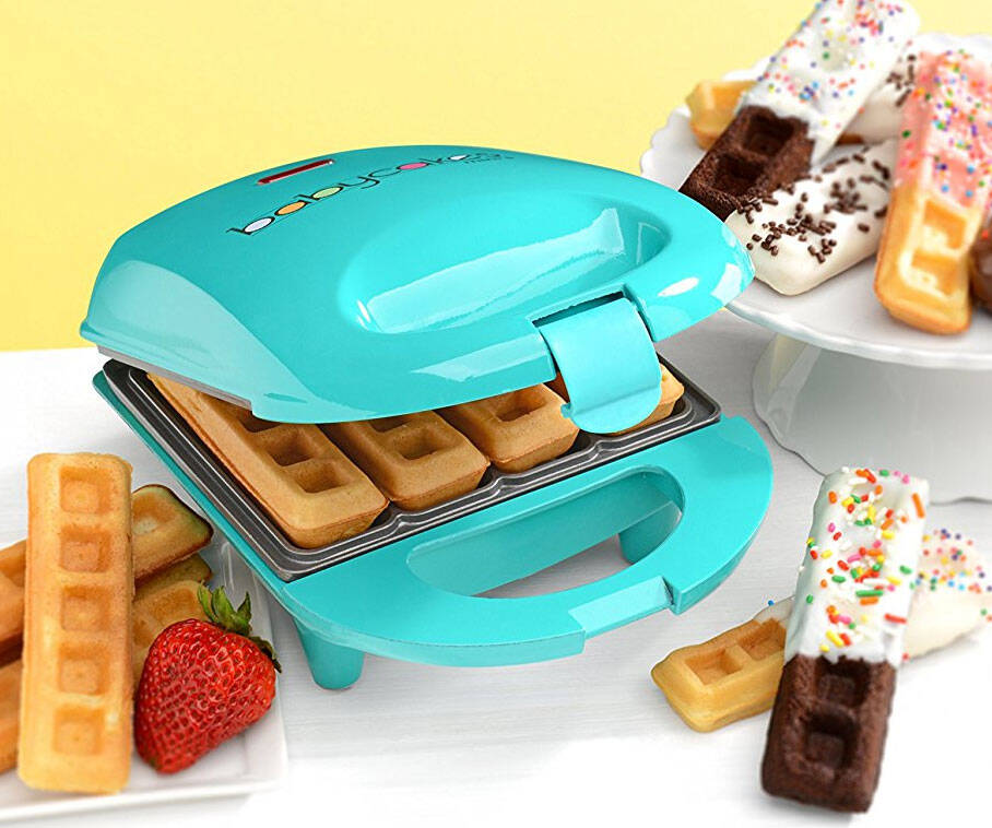 Mini Waffle Stick Maker - http://coolthings.us