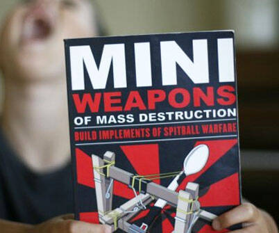 Mini Weapons Of Mass Destruction Book - http://coolthings.us