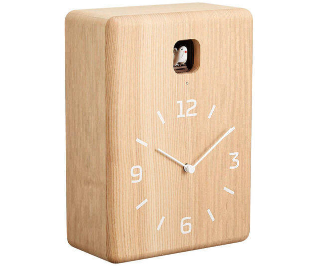 Minimalist Cuckoo Clock - coolthings.us