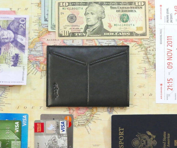 Minimalist Travel Wallet - http://coolthings.us