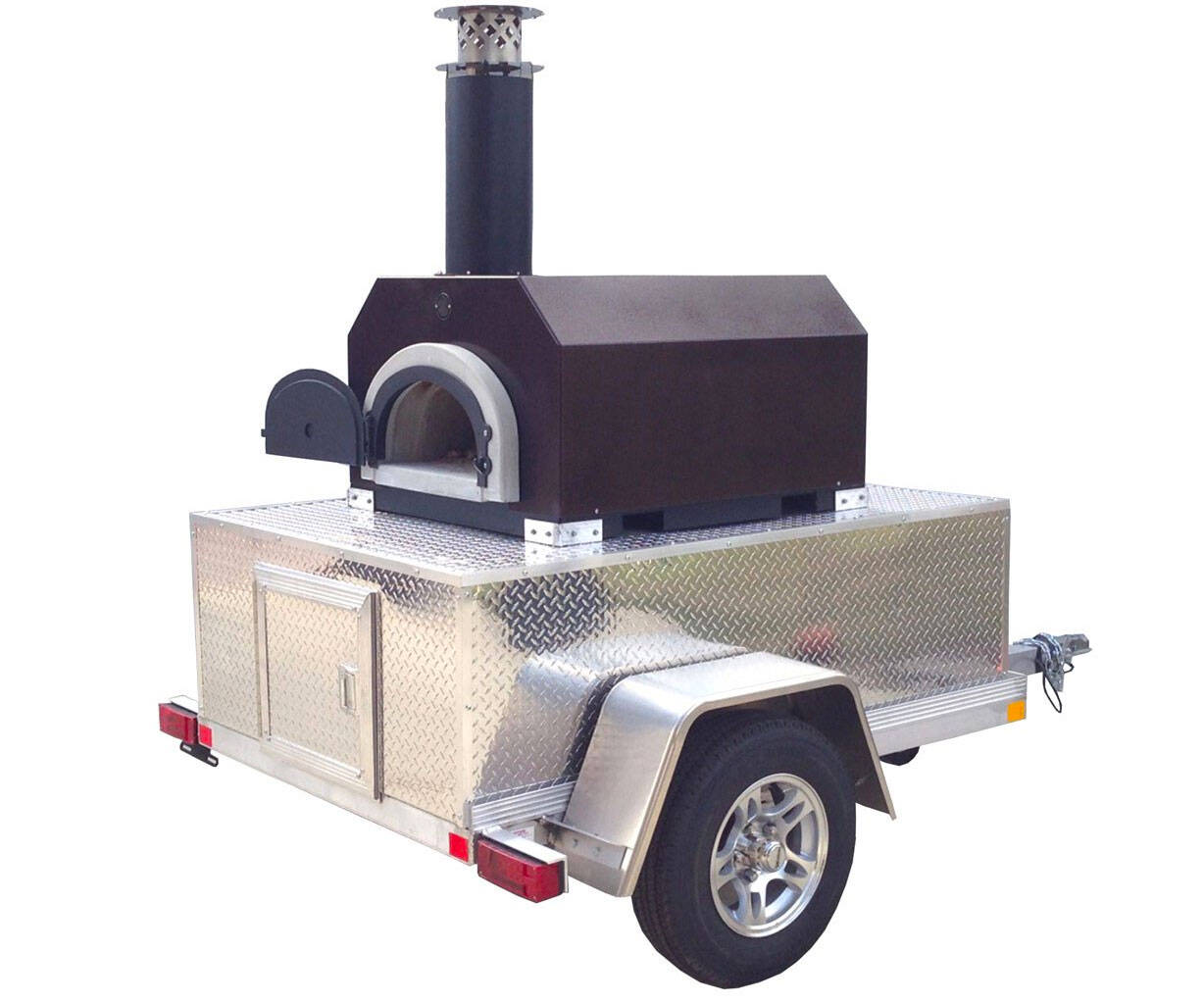 The Tailgate Mobile Outdoor Pizza Oven - http://coolthings.us